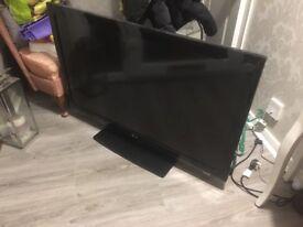 """LG 42 """" tv and LG 120w soundbar and subwoofer"""