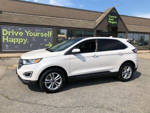 2017 Ford Edge SEL / LEATHER / NAVIGATION / SUNROOF