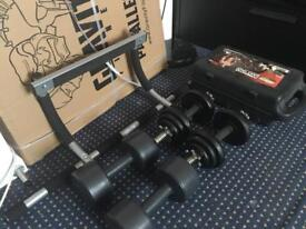 Exercise Equipment | Paralettes; Dumbbells; Pull Up Bar