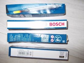 4 Brand New Bosch Glow plugs. Part No: 0250 203 002-EAF 955