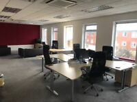 Bright, modern office building. Spaces available to suit 2-30 people.