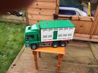 Bruder cattle truck