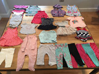 9 - 12 months Baby Girl Clothes Bundle - 23 items (Joules, H&M, Gap, M&S, Next)