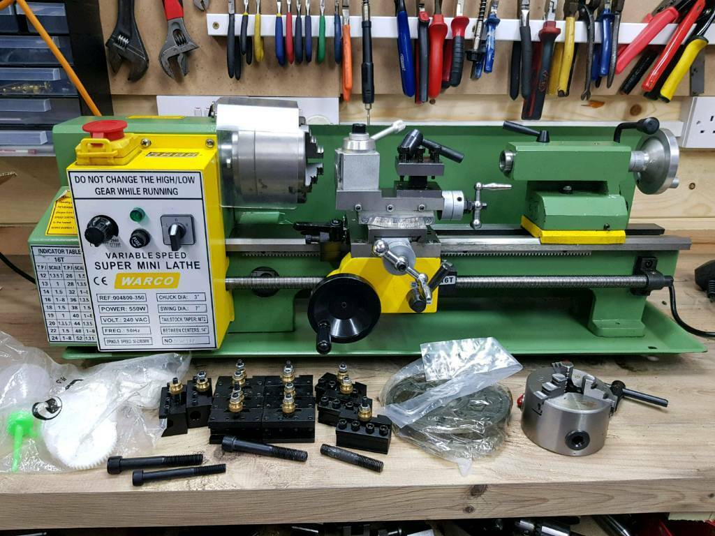 Warco Super Mini Lathe And Accessories In Kennington Kent Gumtree
