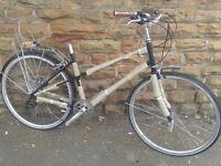 NEW Dawes Camden Mixte Hybrid Ladies Traditional Style Bike RRP£599