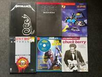 Guitar tab books rock and metal