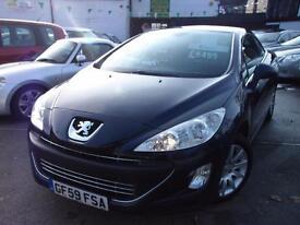 Peugeot 308 1.6 VTi Sport 2dr (blue) 2009