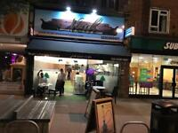 Lebanese Restaurant lease for sale or rent with good profit in Kt6 7ht
