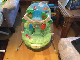Fisher price bouncy vibrating chair