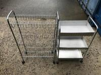2 vegetable racks FREE DELIVERY PLYMOUTH AREA