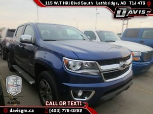 Used 2016 Chevrolet Colorado LT-Heated Leather, Navigation