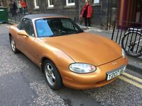 Mazda MX-5 1.8 S | Full Service & MOT | Only 76k | No rust | FSH, leather, new tyres, etc.