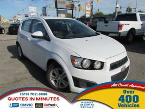 2016 Chevrolet Sonic LT | CAM | APPLY & GET APPROVED