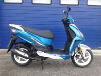 2016 SYM JET 4 50CC SPORTS MOPED , FULL SERVICE HISTORY & HPI CLEAR MINT
