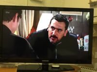 "40"" SAMSUNG LE40C530F1W 1080p FULL HD LCD TV WITH FREE VIEW IN GREAT CONDITION"