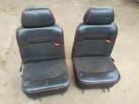 Mini cooper seats