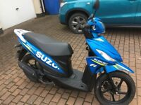 SUZUKI ADDRESS MOTO GP LIMITED EDITION SCOOTER 1300 MLS