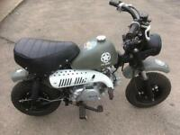 Sky team 125cc monkey bike