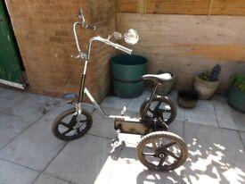 1970s Trike Bicycle / Bike / Refurbished Customised