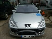 307 sw estate petrol spares or repair