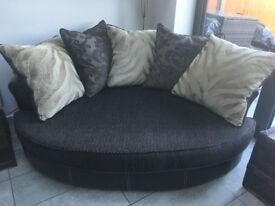 Cuddler sofa (DFS)