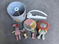 Mamas and Papas Zambeezee Complet Nursery Set