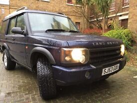 2004 Landrover Discovery 2 2.5 TD5 Pursuit 5dr (7 Seats)
