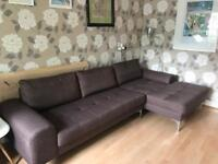 Left Hand Corner Sofa Made Vittorio