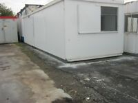 """32ft x 10ft Anti Vandal Portable Cabin Welfare Unit Site Office """"IN STOCK"""" shipping container shed"""