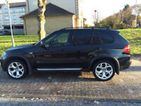 """BMW X5 3.0d sport auto 2007 """"57"""" black with black leather & privacy glass NEWER SHAPE"""