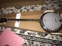 Washburn B9 5 String Banjo