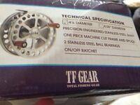 tf gear 4 1/4 centerpin Reel xpin - £45