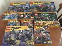 Lego Batman Movie collection