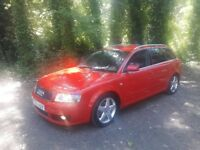 04 reg audi a4 sport estate car 1.9 turbo diesel April next year mot