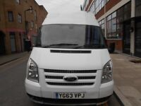 2013 FORD TRANSIT TREND LIMITED2.2 TDCI 140T280 HIGH ROOF PANEL VAN YEAR MOT A/C BLUETOTH VGC