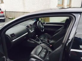 2007 GTI 3 DOOR. Pearl Black. comes with sunroof and IPOD connection brilliant wee car.