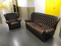 2x chesterfield sofa set, Free delivery