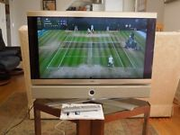 Quality TV, Loewe 32 ins, great picture and sound. Features incl recording, PIP, t/text, radio, etc.