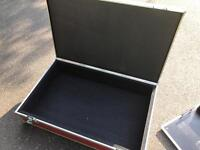 Large Pedal Board and flight case