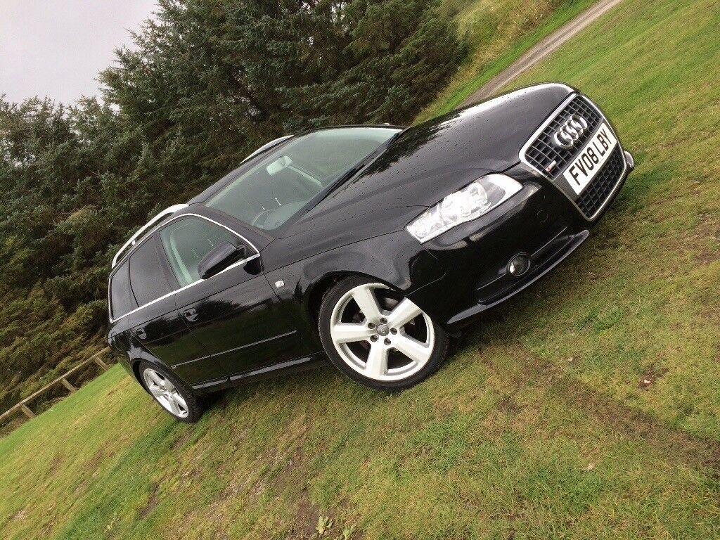 2008 Audi A4 Avant 20 Tdv S Line In Hawick Scottish Borders Gumtree