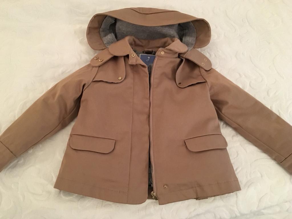 Jacadi coat with removable warmer and hood