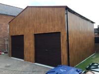 Gliderol garage doors - bespoke steel garages