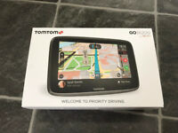 TomTom GO 6200 SAT NAV SATNAV GPS with Wi-Fi, Maps and smartphone enabled TomTom Traffic