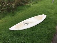 Surf board 6'3 lots of volume