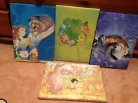 disney characters pictures for wall