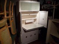retro free standing kitchen cabinet