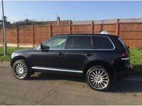 VW TOUAREG 2.5 R5 SE 2009 ONE OWNER 53000 MILES