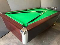 Pool table 6 x 3 ft - brand new cloth