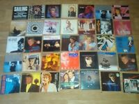 "65 x massive rod stewart collection vinyl LP's / 12"" / 7"" / tour prog / mags"