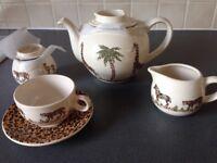China Safari Tea Set